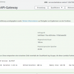 RestfulAPIs auf AWS selbst gebaut